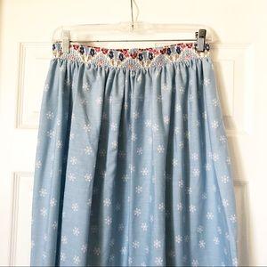 Vintage Made in California Midi Skirt